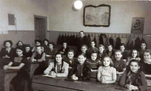 Historisches Bilder der Moritzschüler
